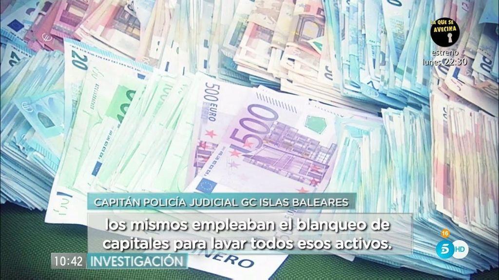 La GC desmantela la organización de narcotraficantes 'Benabad' 'en Mallorca