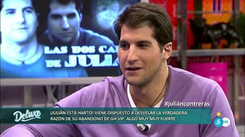 """Julián Contreras: """"Abandoné porque me superó mi situación, no por la discusión"""""""