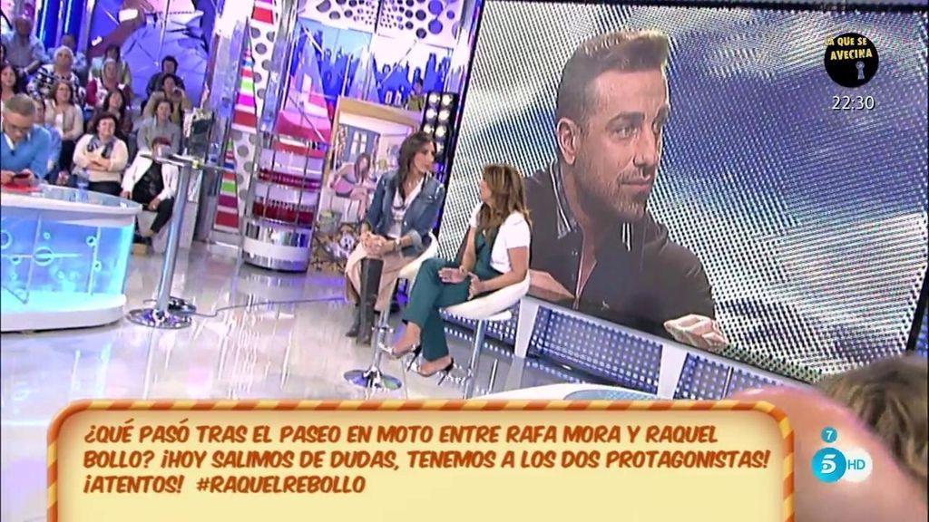 """Raquel Bollo desmiente: """"No he conocido íntimamente a Rafa Mora"""""""