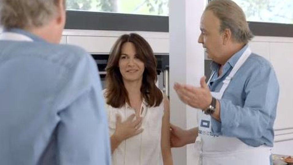 """Bertín bromea con Fabiola: """"La mujer que tengo la tengo para echar el rato"""""""