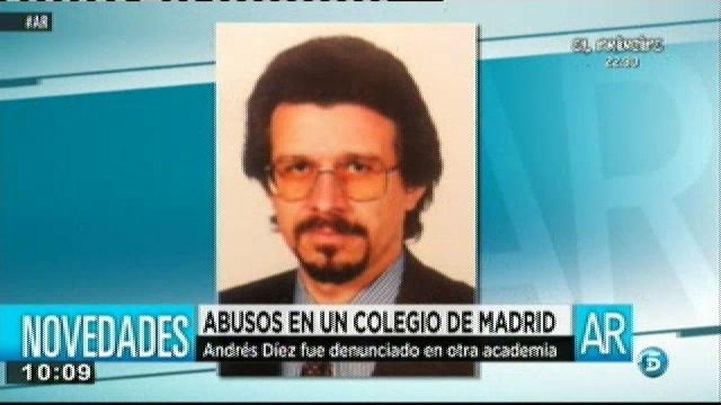 Andrés Díez, el profesor detenido por abusos, podría llevar actuando casi 20 años