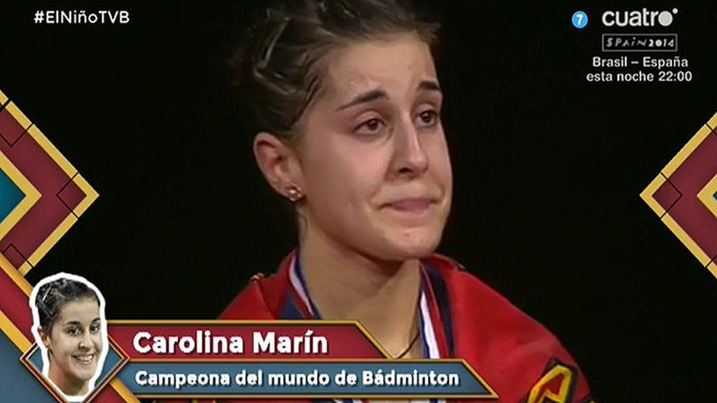 """Carolina Marín, campeona del mundo de bádminton: """"Estoy en una nube"""""""