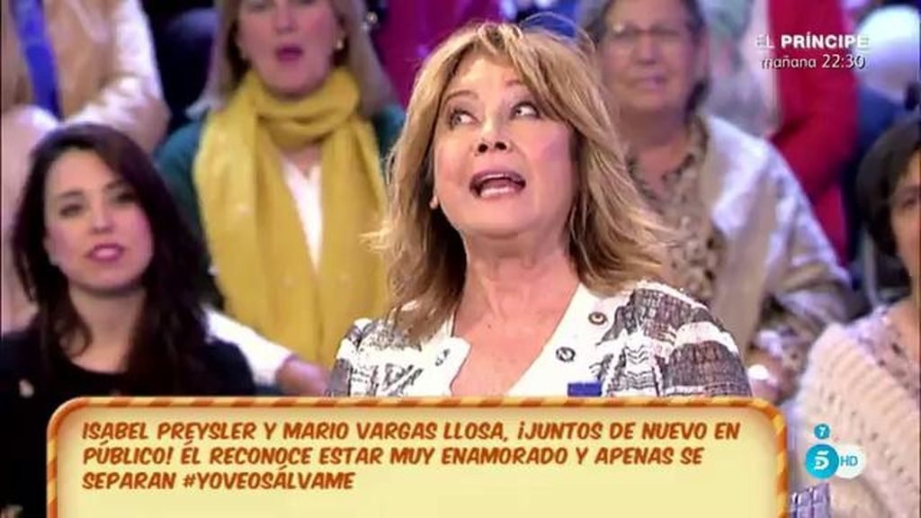 "Kiko Matamoros le dice a Isabel Preysler: ""Estabas guapísima"""