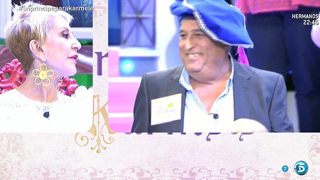 """Antonio, a Karmele: """"Puedo ofrecerle amor y cariño, dinero no"""""""
