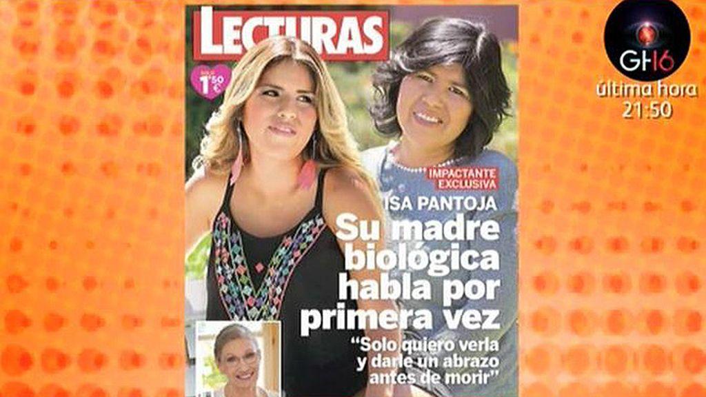 La supuesta madre biológica de Isa Pantoja habla por primera vez en la revista 'Lecturas'