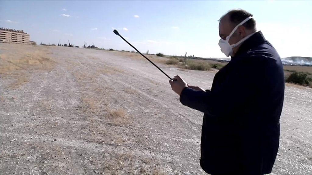 'Cuarto Milenio' acude a Seseña para medir las sustancias tóxicas en el aire