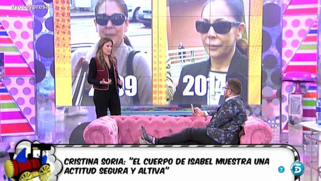 """Cristina Soria: """"Isabel Pantoja quiere aparentar seguridad y tranquilidad"""""""