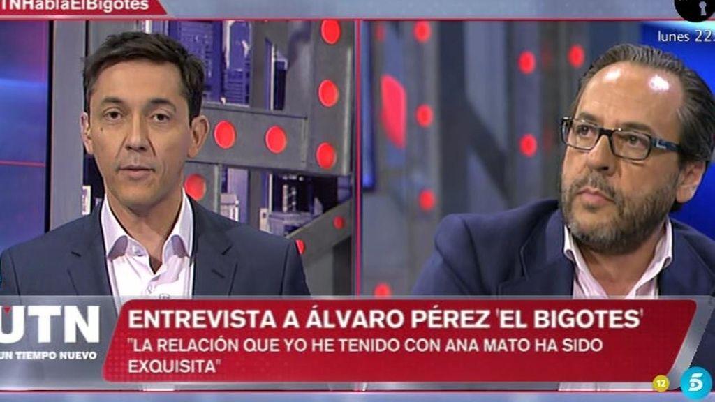 """El Bigotes aclara la polémica: """"No puse ningún cañón de confeti, se exageró lo de Ana Mato"""""""