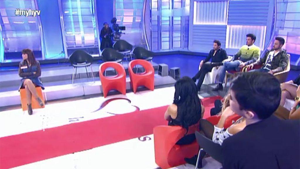 Pascual sienta a Patri en la silla caliente