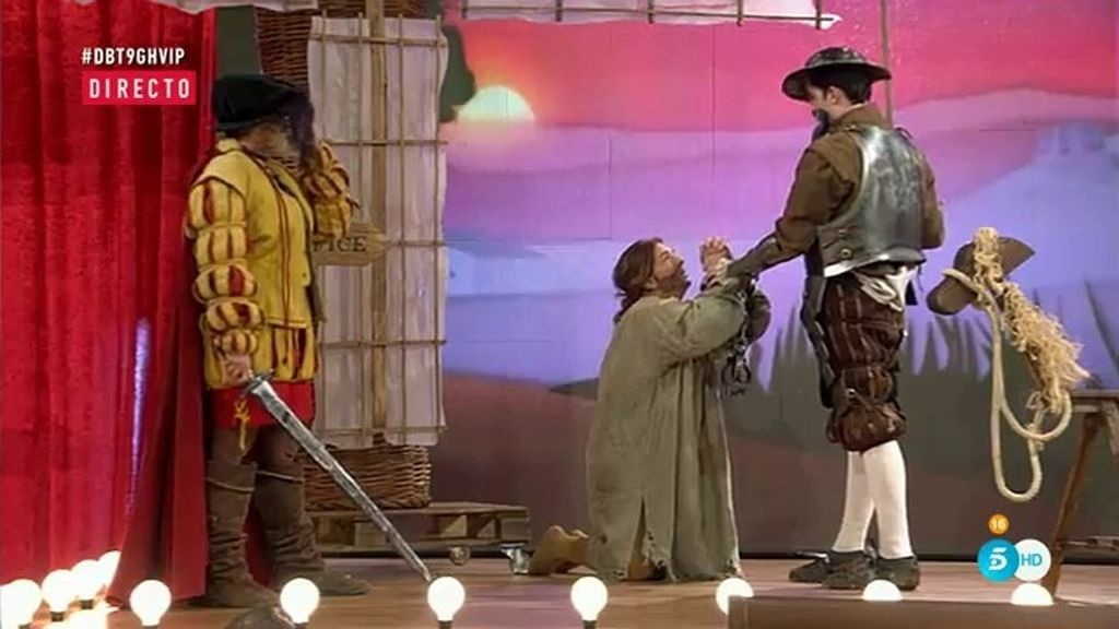 Así ha sido la divertida representación de 'Los galeotes' de la obra 'El Quijote'