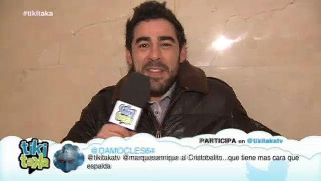 Amador quiere darle 'Tiki Taka' al concejal y presidente del 'Mirador de Montepinar'