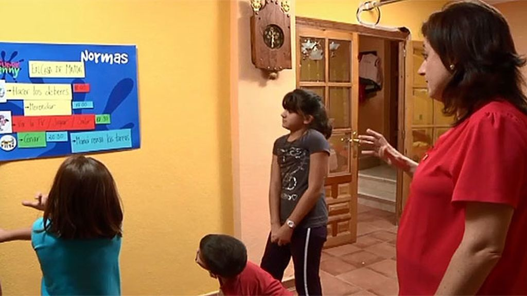 Andrea, Lucía y Nacho tendrán la misma rutina en su casa y en la de los abuelos