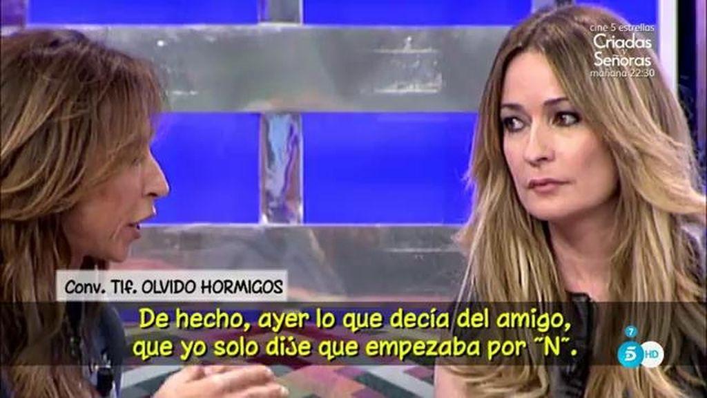 """Olvido Hormigos, de María Patiño: """"Me saca de mis casillas porque es una mentirosa"""""""