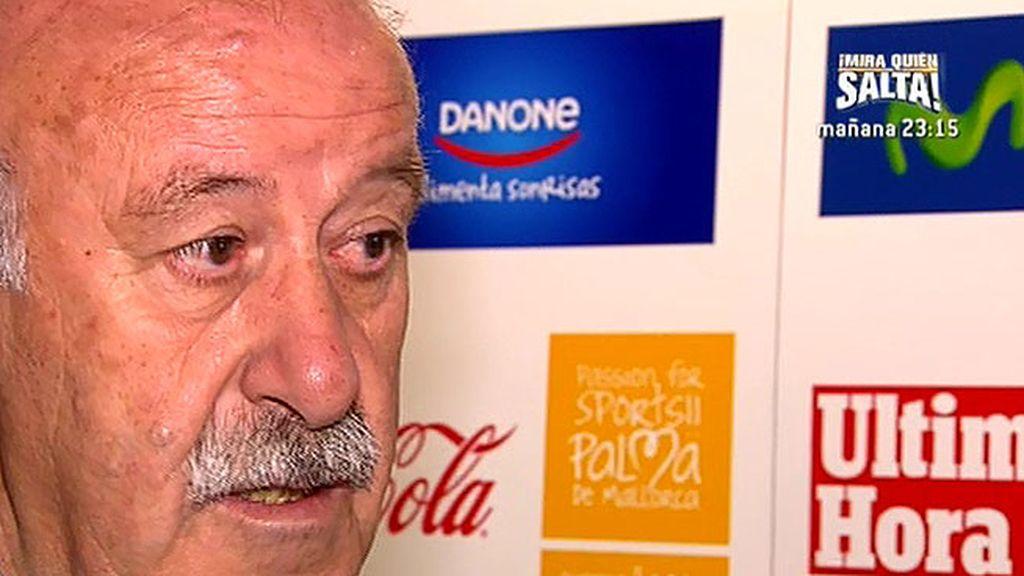 "Vicente del Bosque: ""Va a ser una final histórica para dos equipos españoles"""