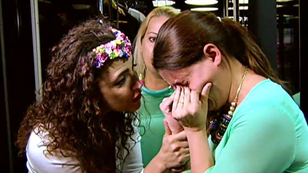 Miriam se derrumba al verse guapa de compras junto a Cristina Rodríguez