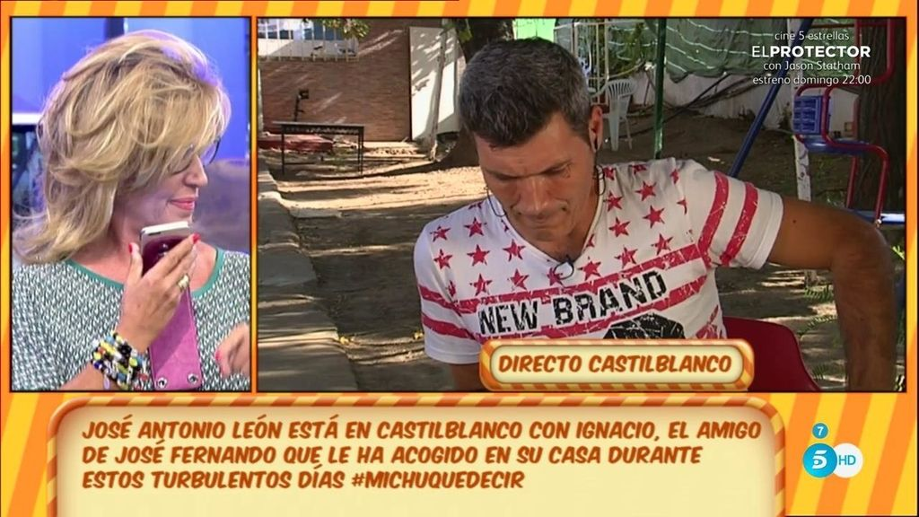 "El 'tito', a Lydia: ""Demuéstrame que yo he vendido fotos de José Fernado"""