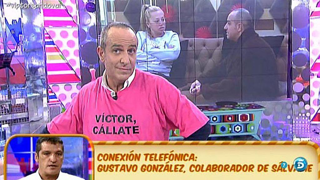 "Gustavo: ""Víctor quiso renovar su pasaporte sin cita previa diciendo que era VIP"""
