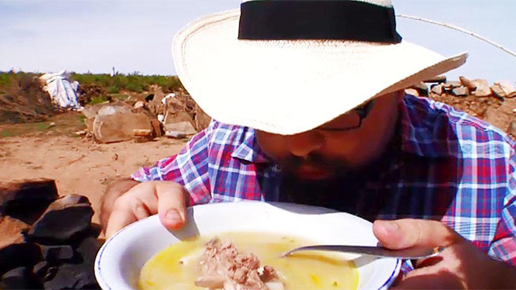 La llama, una comida habitual para los indígenas de La Quiaca