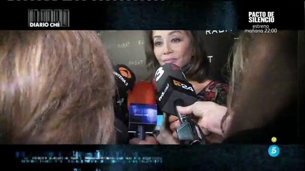 El incidente con las cámaras de Chelo Gª Cortés mientras hablaba con Preysler