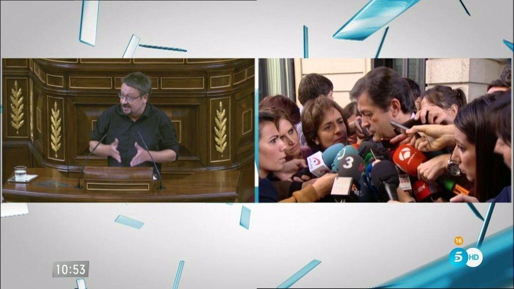 """J. Fernández: """"Hago valer el discurso de Hernando sobre las políticas del PP"""""""