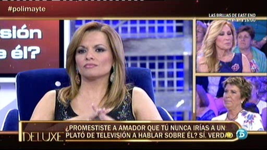 Amador Mohedano llamaba a Mayte a altas horas de la madrugada