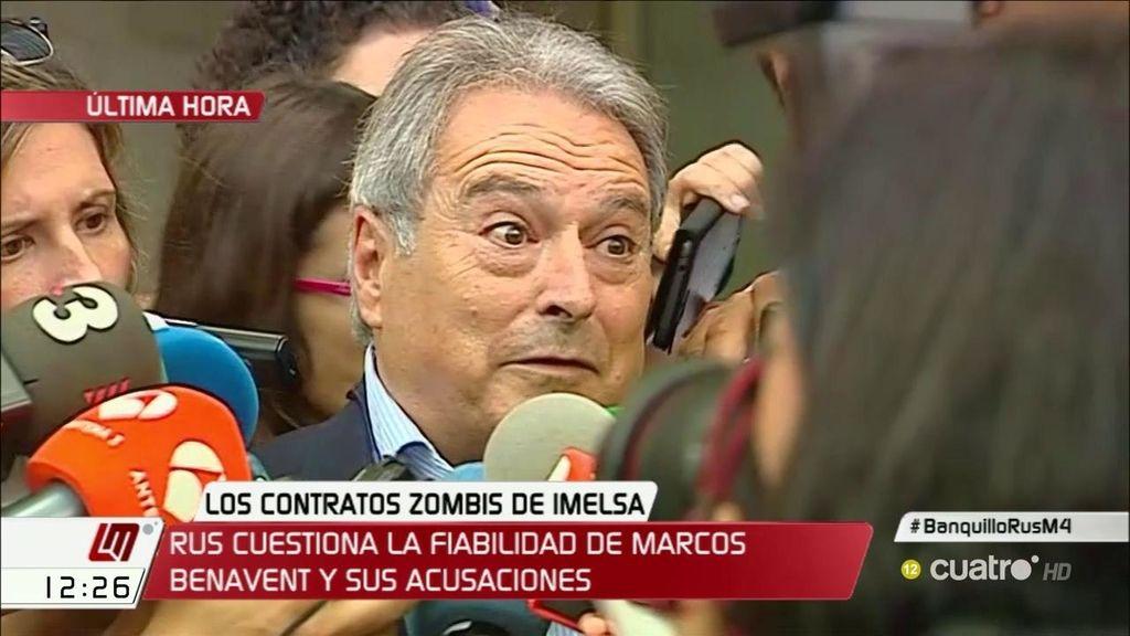 """Rus contesta a Marcos Benavent: """"Su credibilidad es la que es"""""""