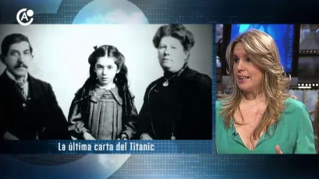 La última carta del Titanic