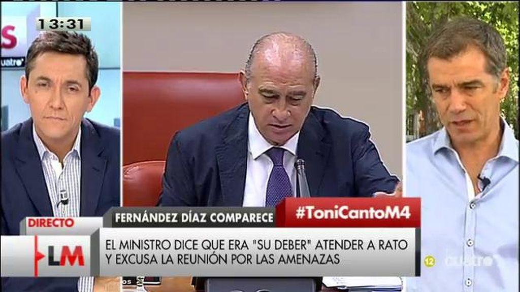 """Toni Cantó: """"Es un gobierno que se ha puesto del lado de los presuntos corruptos"""""""