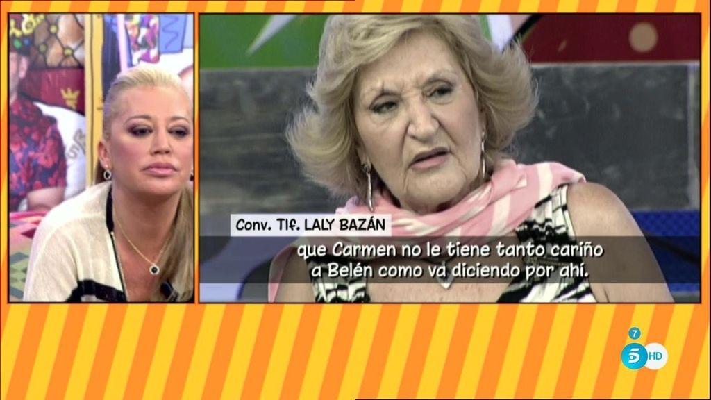 """Laly Bazán responde a las acusaciones hacia su hermana: """"Belén nunca nos ha respetado"""""""
