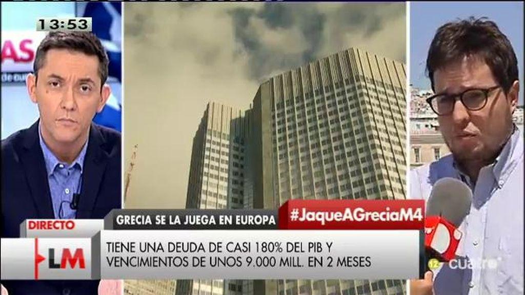 """D. Munevar, asesor económico del gobierno griego: """"Sin una quita, Grecia tendría que imponer 50 años de austeridad"""""""