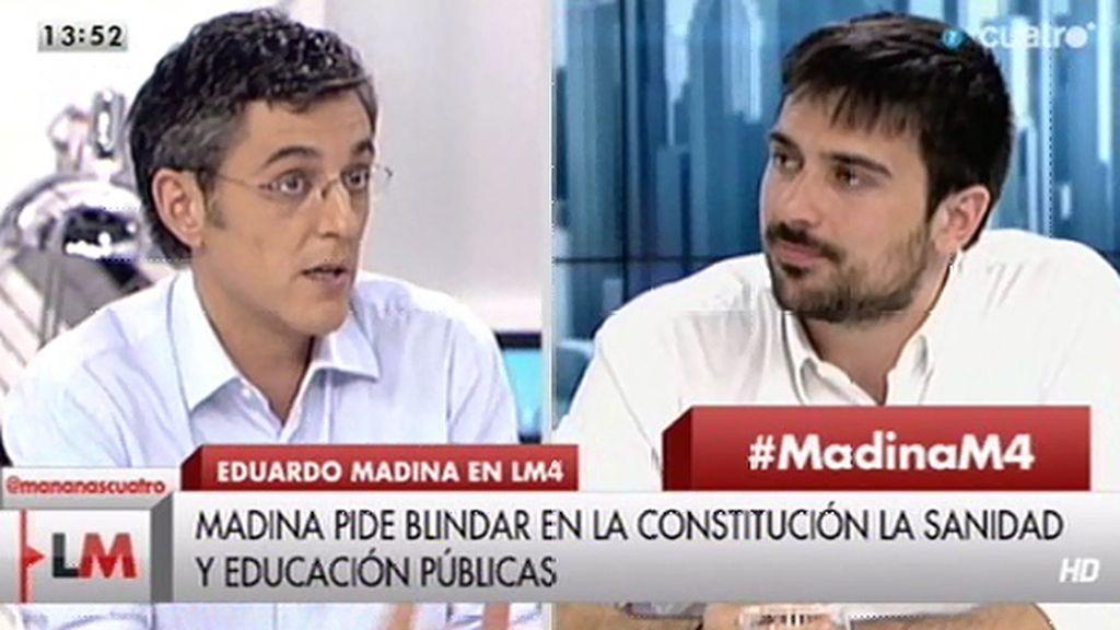 Las prioridades de Eduardo Madina para reformar la Constitución
