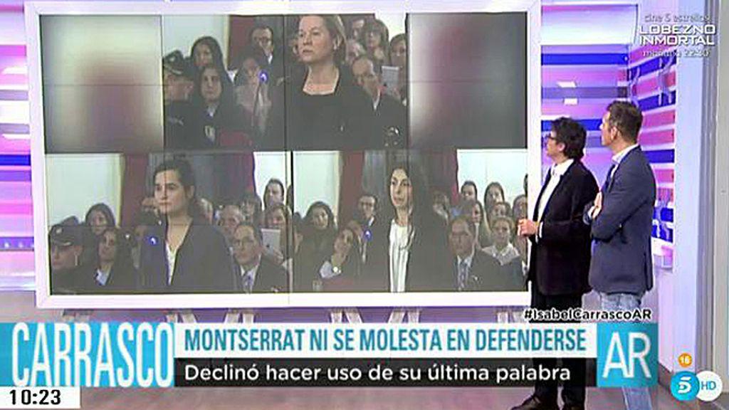 "Psicólogo: ""Montserrat se muestra ausente, Triana infantil y Raquel muy débil"""