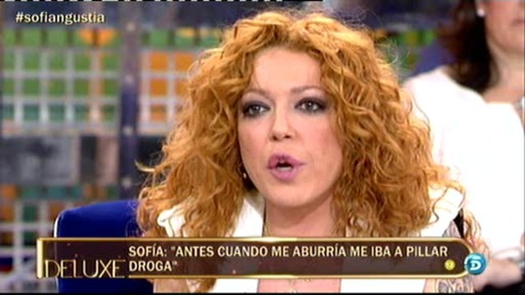 """Sofía Cristo: """"El alcohol es droga y es la puerta de entrada a otras drogas"""""""