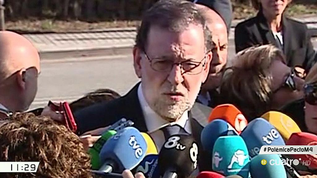 """Mariano Rajoy se despide emocionado de Barberá: """"Ha sido un orgullo ser su amigo"""""""