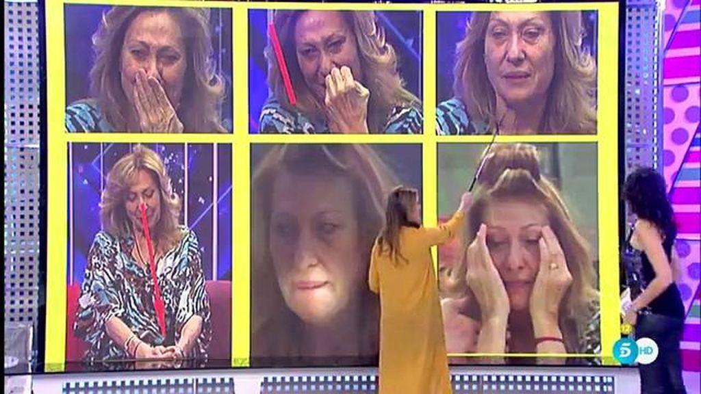 Cristina Soria analiza la reacción de Rosa Benito ante la ausencia de Kiko Hernández y Belén Esteban en su felicitación
