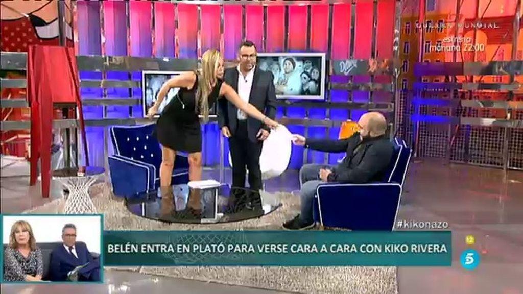 """Belén Esteban y su cara a cara con Kiko Rivera: """"Aquí tienes tu demanda"""""""