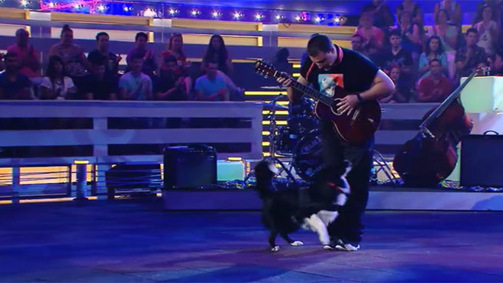 Alex y su perro Eliot se proponen ganar a ritmo de Rock&Roll