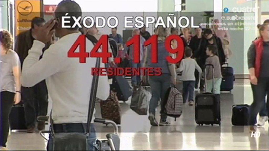 120 personas cada día se van de España a Alemania, de ellos 100 son españoles