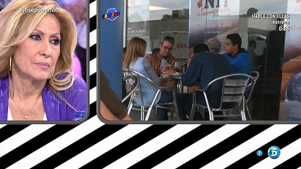 José Fernando, Gloria Camila y Ortega Cano comen juntos tras la salida del centro