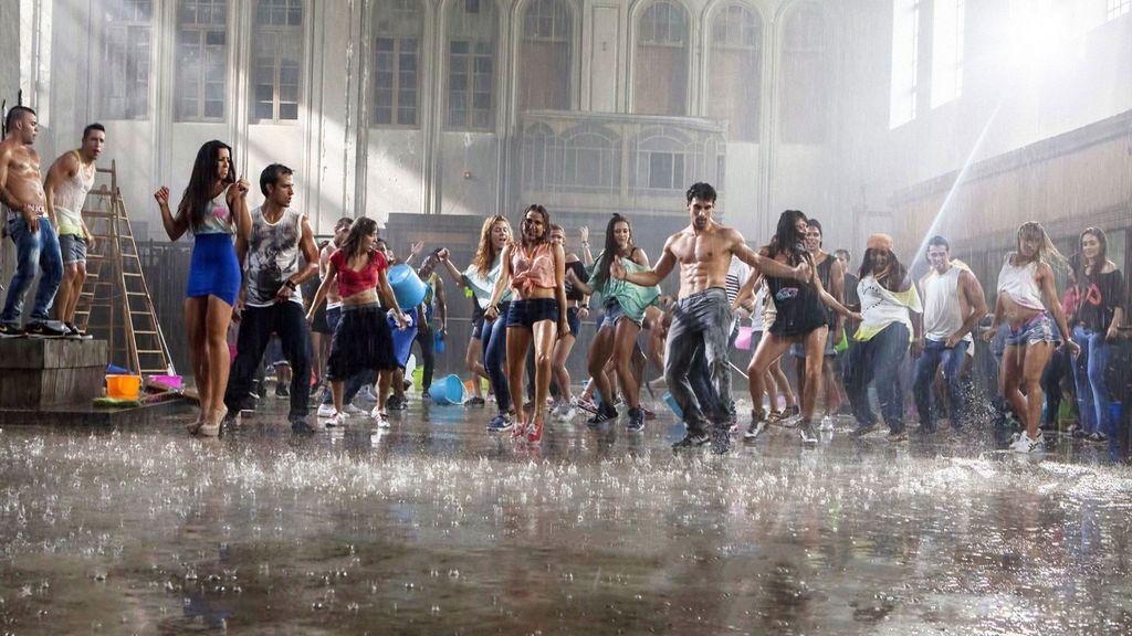 Una batalla de 'hip hop' pasada por agua