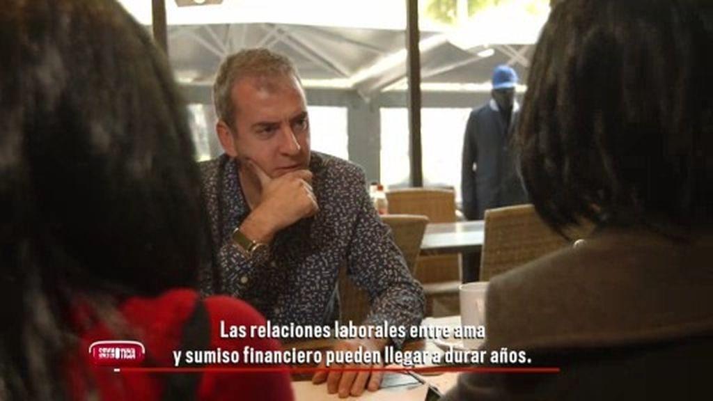 """Dominatriz financiera: """"El contrato, a los sumisos financieros, les excita"""""""
