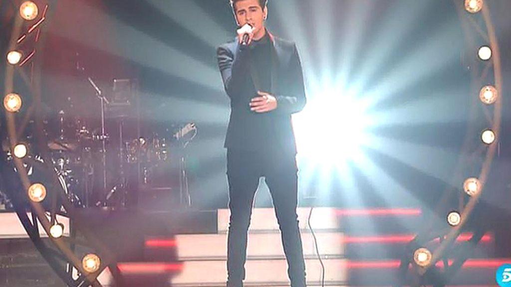 La actuación de Maverick en la final de 'La Voz 3': 'Contigo en la distancia'