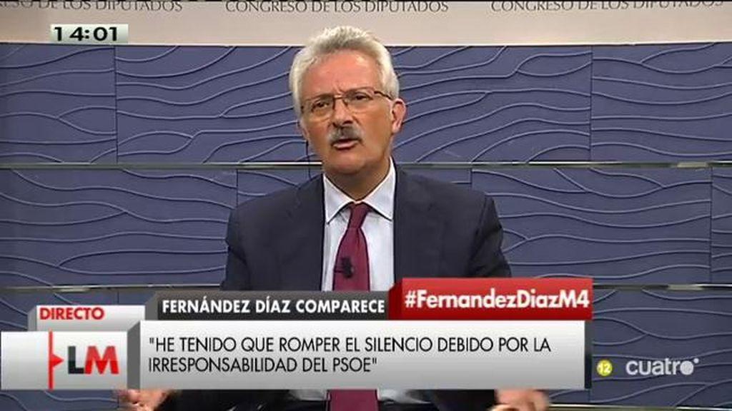"""Trevín (PSOE): """"Si Rajoy no cesa a Fernández Díaz tendremos que pensar que sabía de esa reunión"""""""