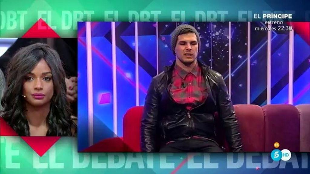 """Alejandro, tras las palabras de Liz: """"Me quiero ir, no soy buen concursante"""""""