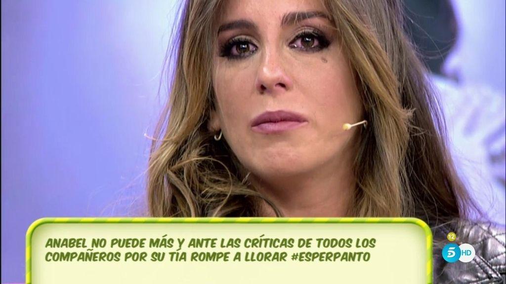 """Anabel Pantoja: """"Trabajo en 'Sálvame' y huelo a 'Sálvame"""""""