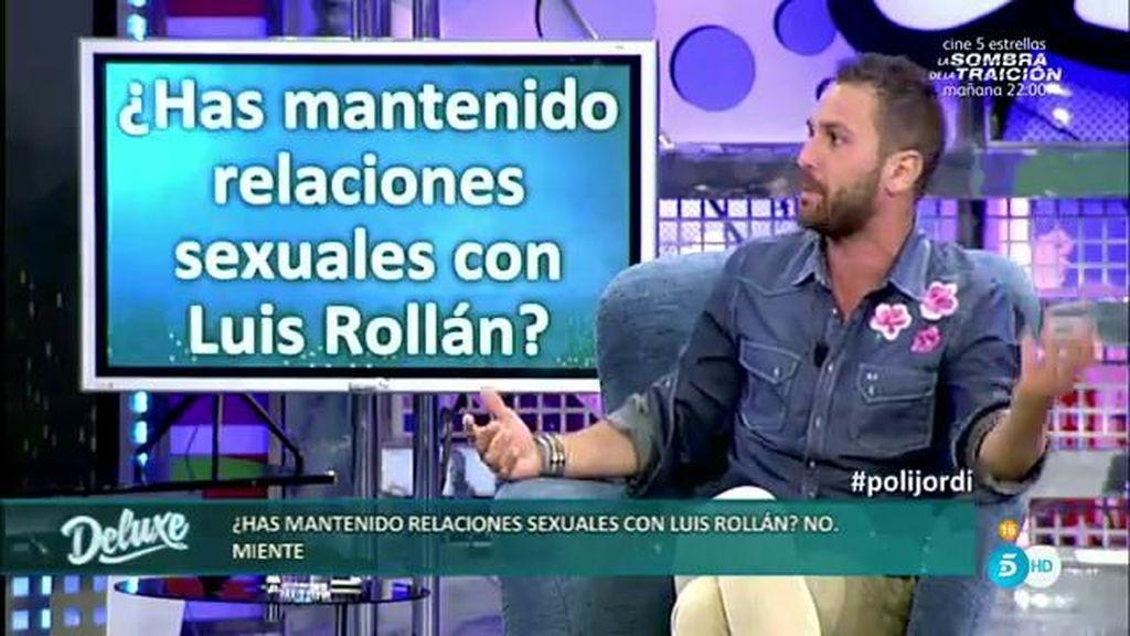 ¿Mantuvieron relaciones sexuales Luis Rollán y Jordi Martín? El fotógrafo lo aclara