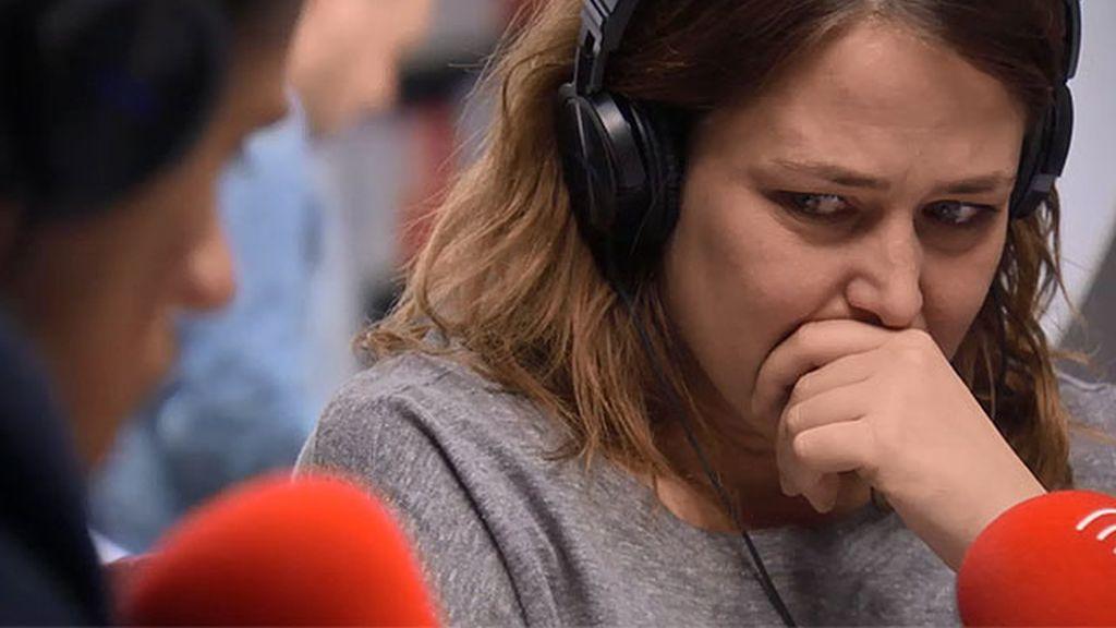 Lucía se derrumba en el último programa de Carlos en 'MorninGlory'