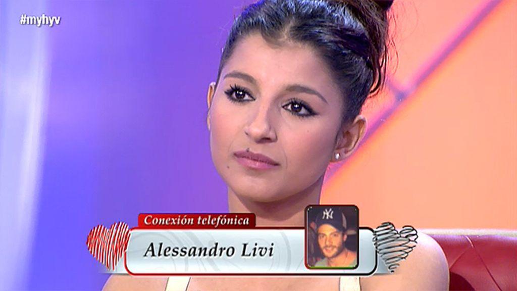 """Alessandro, sobre Aguasantas: """"Somos muy amigos y no tenemos nada que esconder"""""""