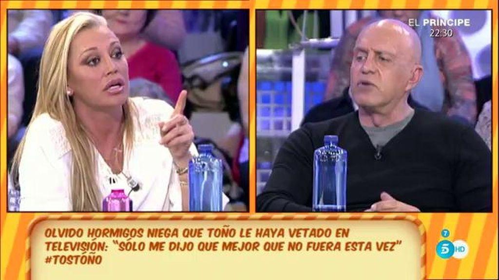 """Belén Esteban, de Olvido Hormigos: """"Para mí 'señora' es otra cosa"""""""