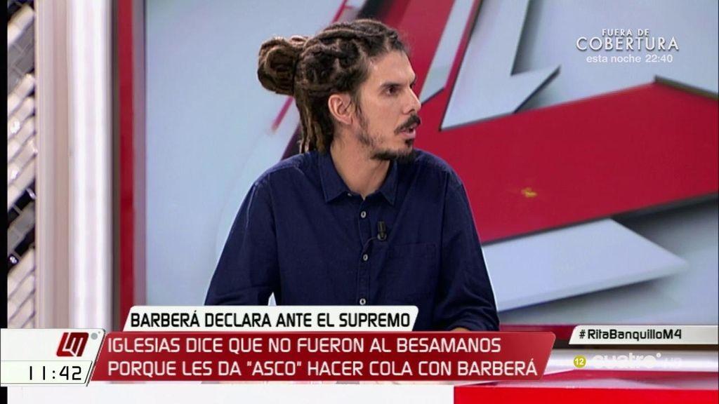 """Alberto Rodríguez (Podemos), sobre la corrupción: """"No queremos rédito político, sino que no ocurra más"""""""